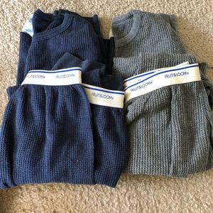 2 Pairs of Fruit of the Loom thermals